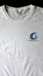 T-shirt front